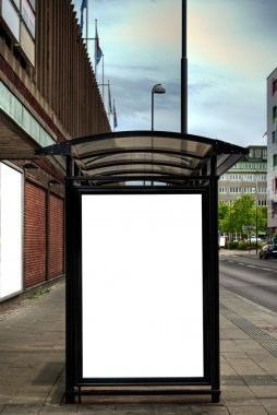 Bus stop HDR 09