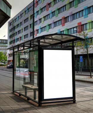 Bus stop HDR 10