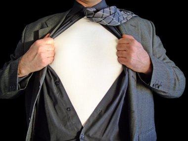 Superhero blank