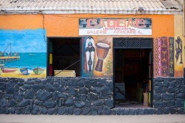 African souvenir shop