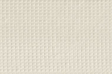 Beige Waffle Weave Fabric Background