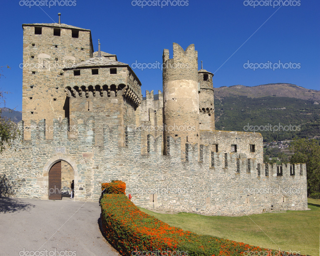 Medieval castle in Italy