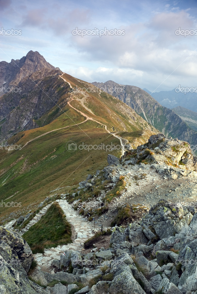 Beautiful view of Tatra Mountains