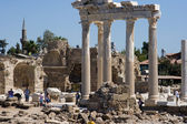 Photo Ruins of Temple of Apollo in Side Turkey