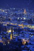 Fotografie deutschen Stadt Garmisch-partenkirchen