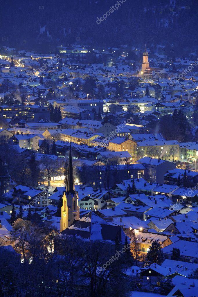 German city Garmisch-Partenkirchen
