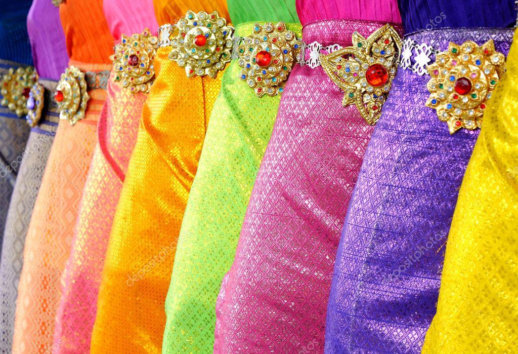 Tthai dance dress