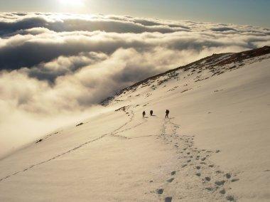 Climbers in High Tatras