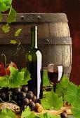 červené víno zátiší