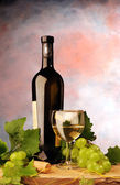 Zátiší s vínem