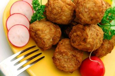 Meat balls in detail