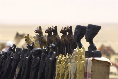 Statuettes in the Egypt