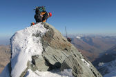 mászó, hegymászás hegygerinc