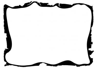 Frame - ragged edges