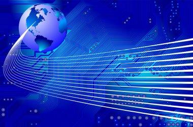 Network - communication - vector