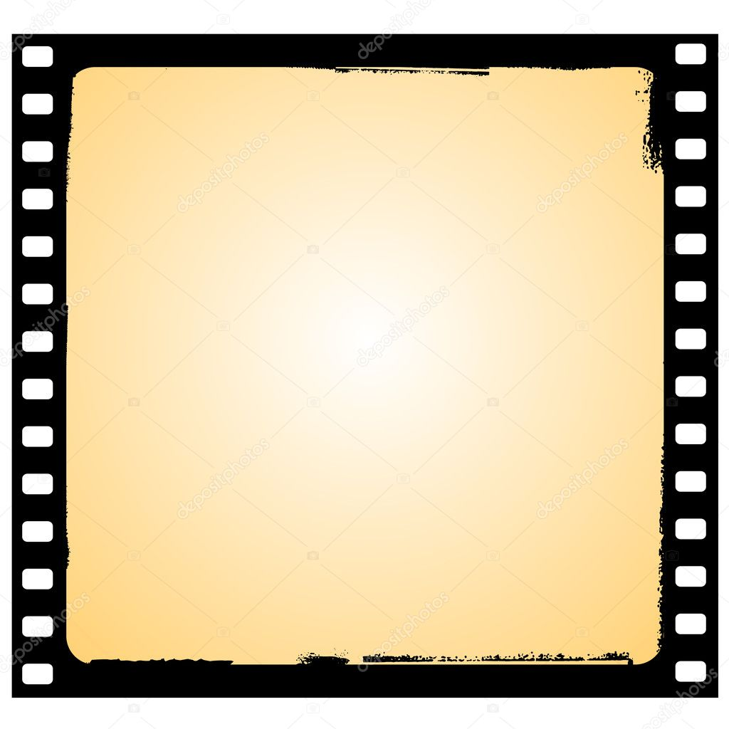 film frame in grunge style stock vector 2286187
