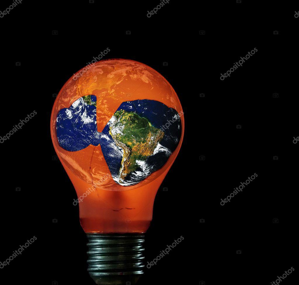 Beleuchtung-Erde — Stockfoto © siloto #2332894