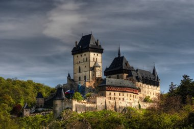 Karlstejn - large gothic castle