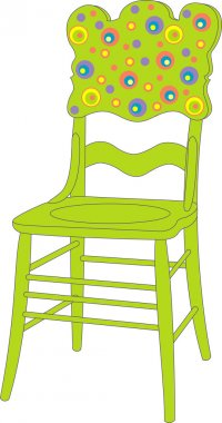 Vector illustration of chair