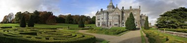 Adare castle and gardens