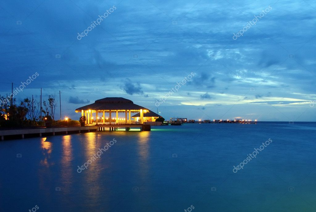 Maldivian after dark