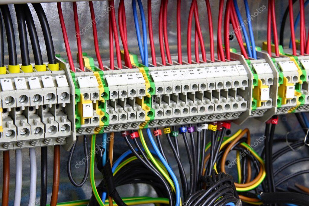 Farbe Kabel — Stockfoto © xtrekx #2200463