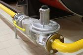 Fotografie plynové potrubí a segment brána