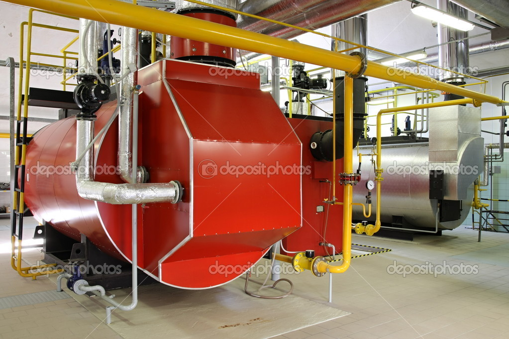 Gas-Dampfkessel — Stockfoto © xtrekx #2325196