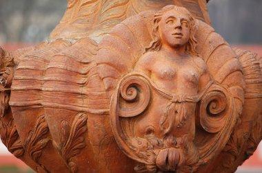 Detail amphora