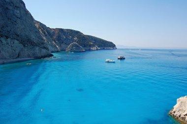 Ship in the Ionian Sea