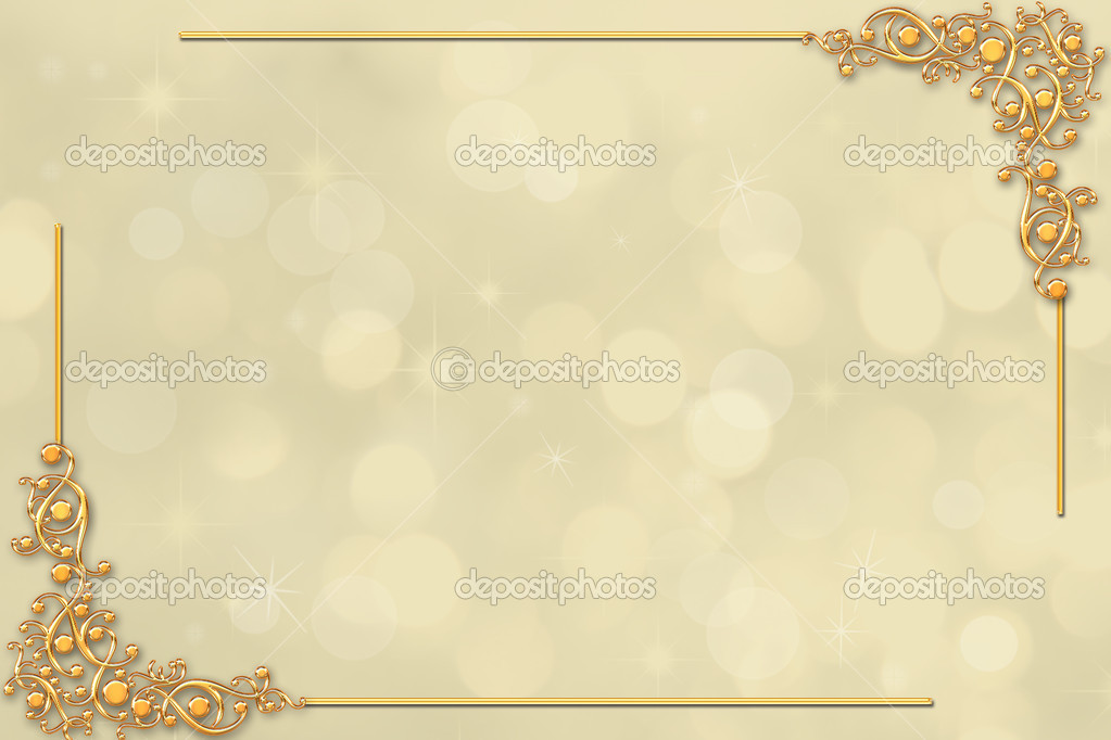 Borda Decorativa Casamento Ou Convite Stock Photo 169 O
