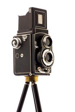 Vinatage Camera on tripod