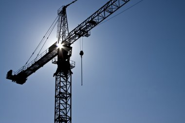 Crane stock vector