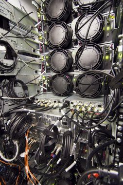 Datacenter rack rear