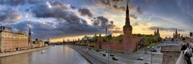 Moscow and the lovers