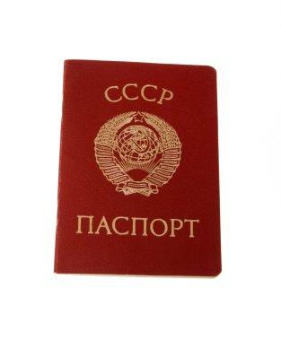 USSR old passport
