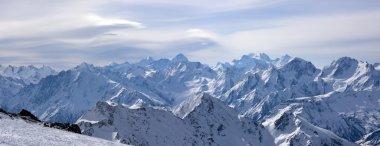 Panoramic view of Greater Caucasus