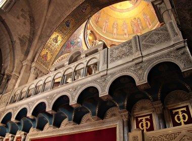 Interior of Holy Sepulchre Church