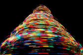Rotating Christmas Tree Lights