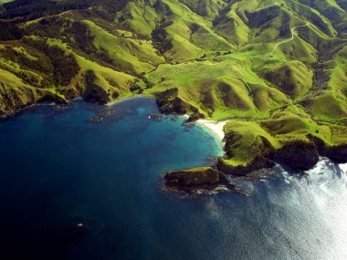 Aerial View of Northland, New Zealand
