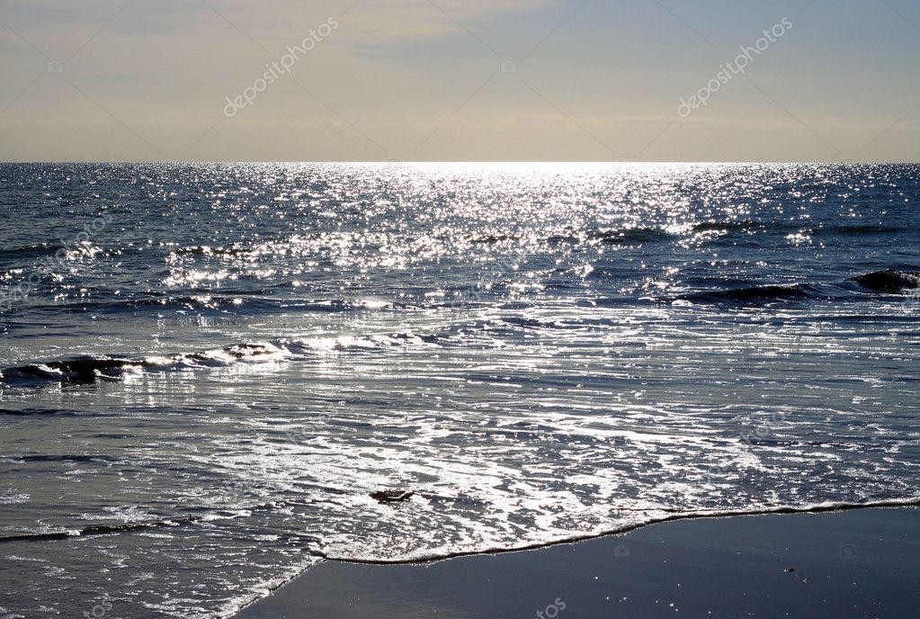 Sparkling Sunlight on Ocean