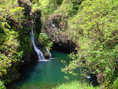 Waterfalls. Road to Hana, Maui, Hawaii