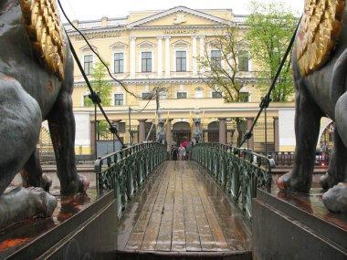 Banking bridge. St.Petersburg