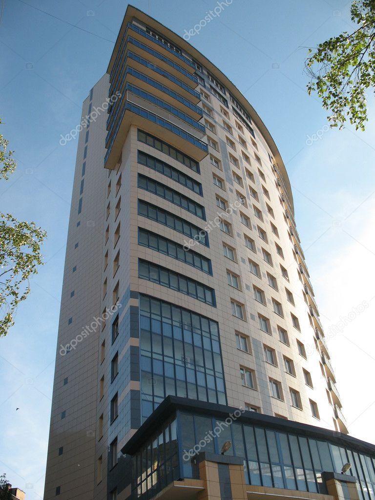 현대 건축, 고층 건물 — 스톡 사진 © Ilexcarrot #2562440