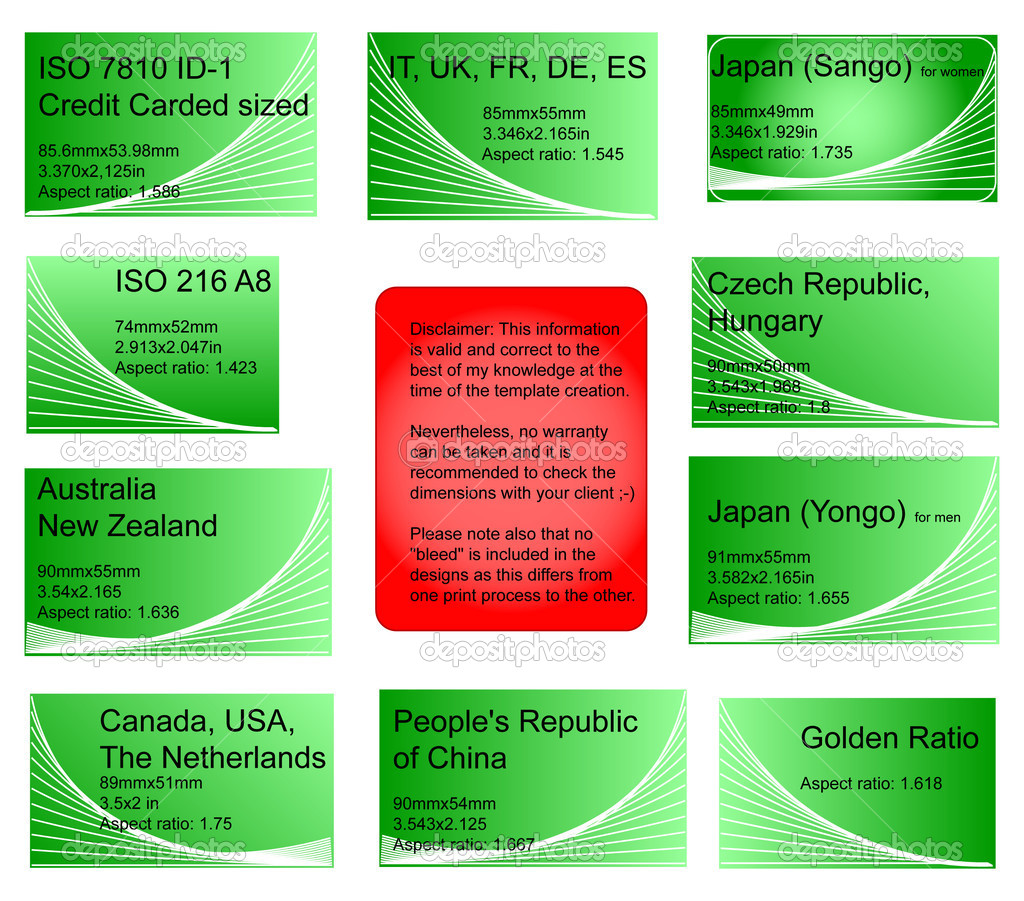 International business cards stock photo hospitalera 2274316 design aid of 8 international business card templates with the following information included in the text iso countries used in dimensions both mm and colourmoves