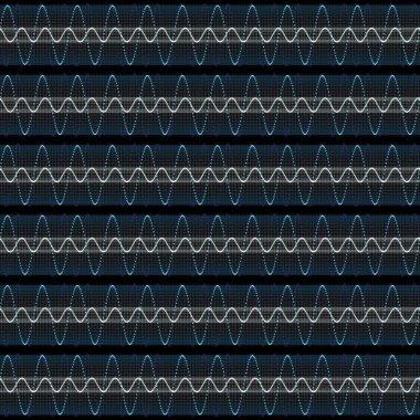 Techno soundwaves