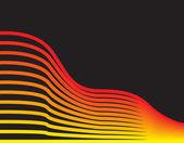 plamen vlna abstraktní design