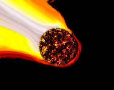 Meteor Shooting Star or Comet