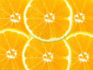 Citric fruit background