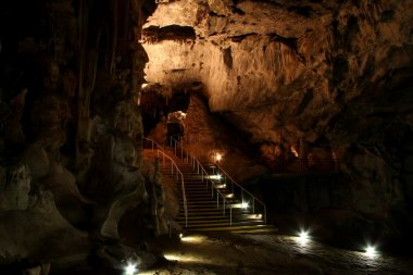 Underground Limestone Cavern